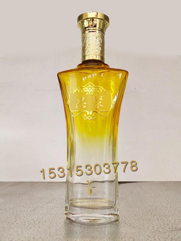 晶白料酒瓶-002