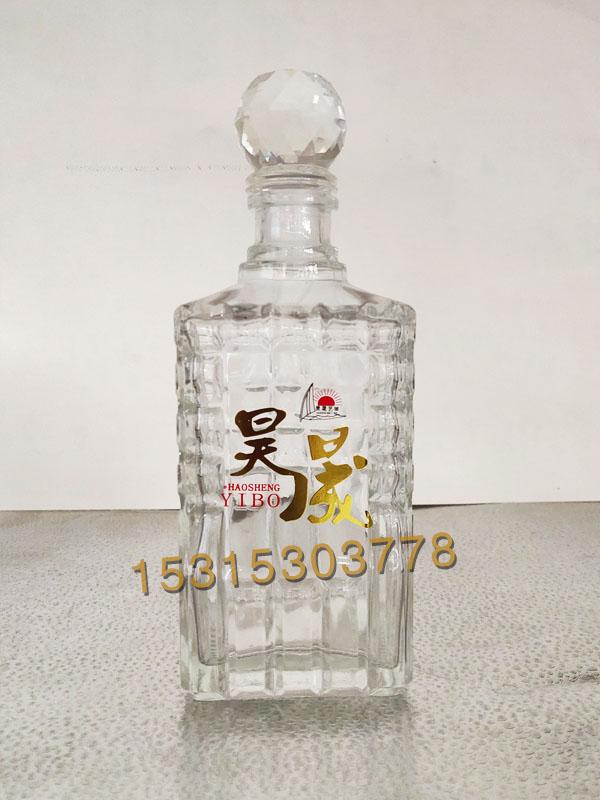 晶白料酒瓶-004