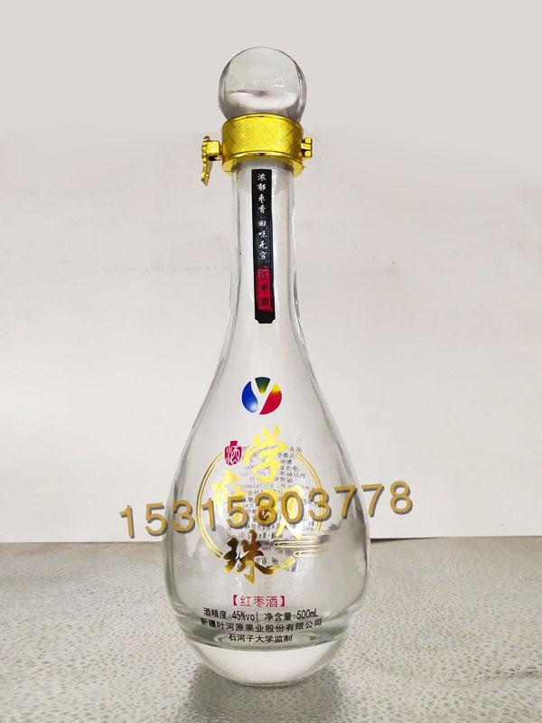 晶白料酒瓶-006